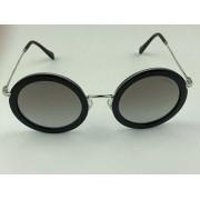 MiuMiu - SMU 59U - Preto - 1AB-5O0 - 48/26 - Óculos de Sol