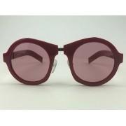 Prada - SPR10X - Vermelho - 539-1K0 - 50/24  -  Óculos de Sol