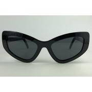 Prada - SPR 11V - Preto - 1AB-5S0 - 55/17 - Óculos de Sol