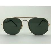 Ray Ban - RB 3561 - Dourado - 001 - 57/17 - Óculos de Sol