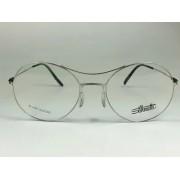 Silhouette - SPX 5508 75 - Prata - 7000 - 52/19 - Armação para Grau