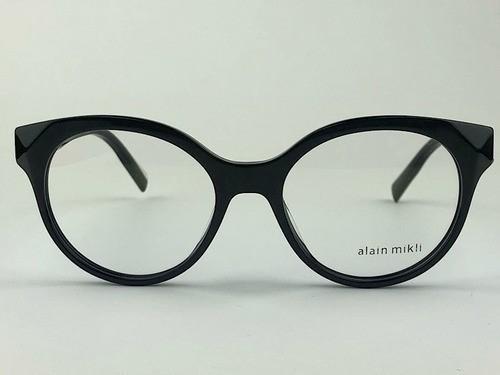Alain Mikli - AO3097 - Preto -  001 - 52/18 - Armação para Grau