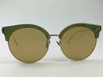 Bottega Veneta - BV0210S - Dourado - 004 - 65/13 - Óculos de Sol