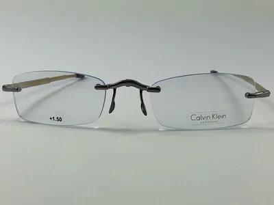 Calvin Klein - CK CR3 + 1,50 - Dourado - 209 - 50/21 - Armação para Grau