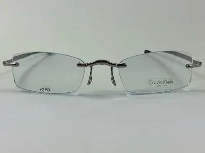 Calvin Klein - CK CR3 + 2,50 - Grafite -038 - 50/21 - Armação para Grau