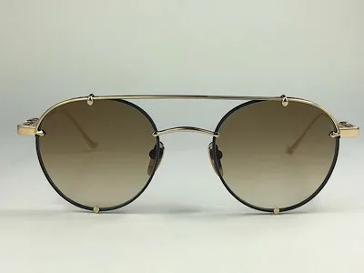 Chrome Hearts - Oralgami - Dourado - MBK GP - 50/22 - Óculos de Sol