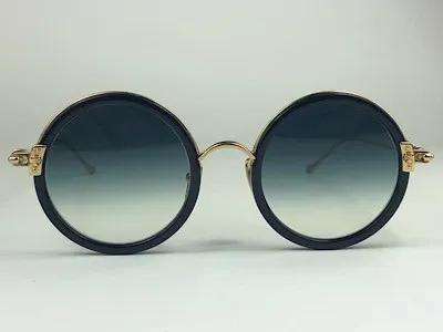 Chrome Hearts - Sextatic - Dourado - 47/22 - Óculos de Sol