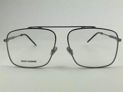 Dior - 0220 - Grafite - KJ1 - 58/14 - Armação para Grau