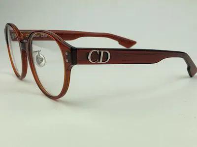 Dior - CD3F - Castanho - 2LF - 50/19 - Armação para Grau