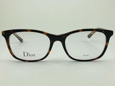 Dior - CD Montaigne18 - Havana - G9Q - 52/18 - Armação para Grau
