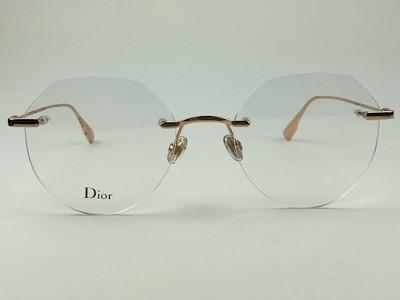 Dior - CD StellaireO6F - Cobre -DDB - 53/20 - Armação para Grau