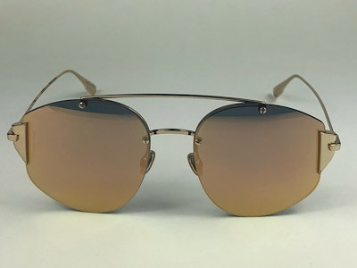 Dior - CD Stronger - Dourado - J5G DJ - 58/18 - Óculos de Sol