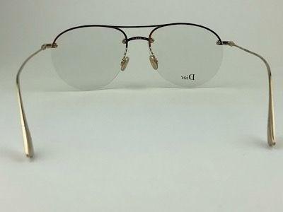 Dior - STELLAIREO11 - Dourado - JSG - 55/15 - Armação para Grau