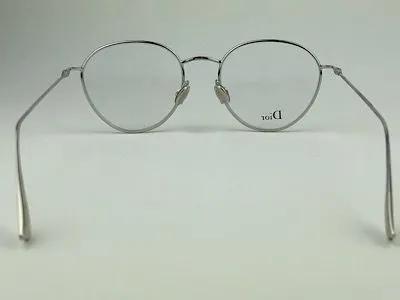 Dior - StellaireO2 - Prata - 010 - 47/18 - Armação para Grau