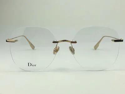 Dior - STELLAIREO8 - Dourado - JSG - 56/16 - Armação para Grau