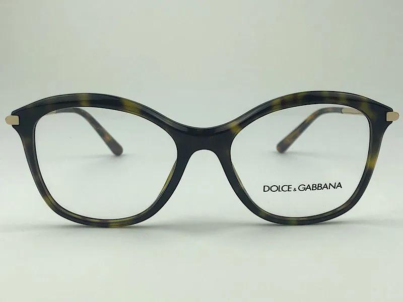 Dolce & Gabbana - 0DG3299 - Havana - 502 - 51/17 - Armação para Grau