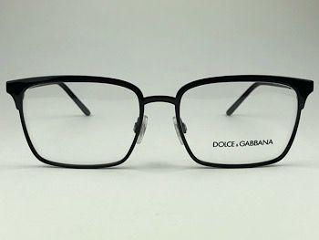 Dolce & Gabbana  DG1295 - Preto - 01 - 55/17 - Armação para grau