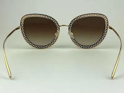 Dolce & Gabbana - DG2226 - Dourado - 02/13 - 54/24 - Óculos de Sol