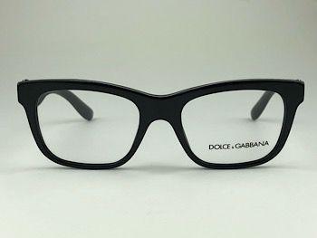 Dolce & Gabbana  DG3239 - Preto - 2998 - 50/18 - Armação para grau