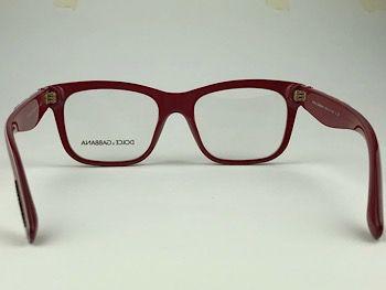 Dolce & Gabbana  DG3239 - Vermelho - 2999 - 52/18 - Armação para grau