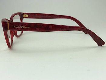 Dolce & Gabbana  DG3274 - Vermelho - 3175 - 54/17 - Armação para grau