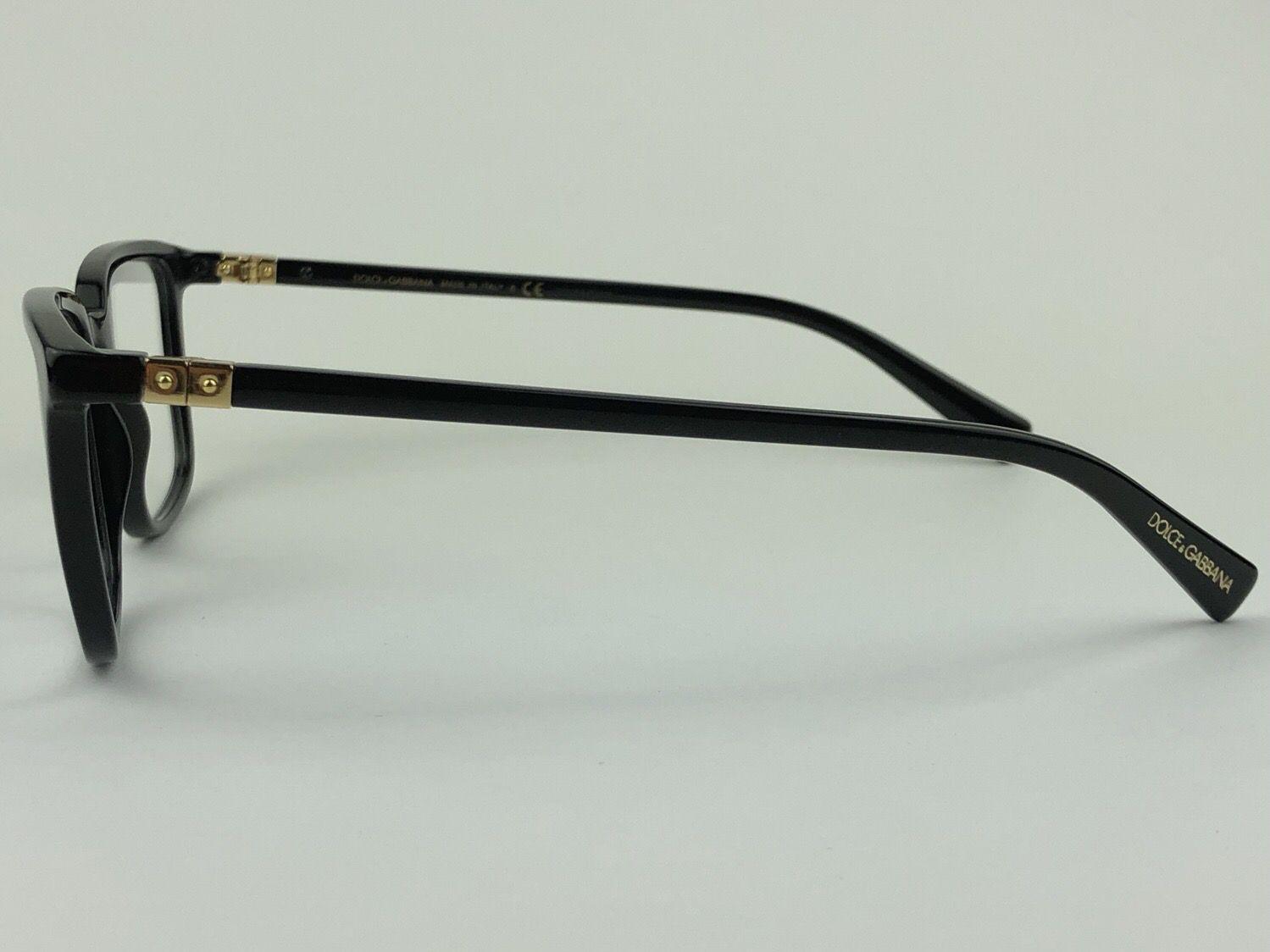Dolce & Gabbana - DG3304 - Preto - 501 - 54/19 - Armação para grau