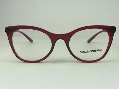Dolce & Gabbana - DG3312 - Vermelho  - 3211 - 52/20 - Armação para Grau