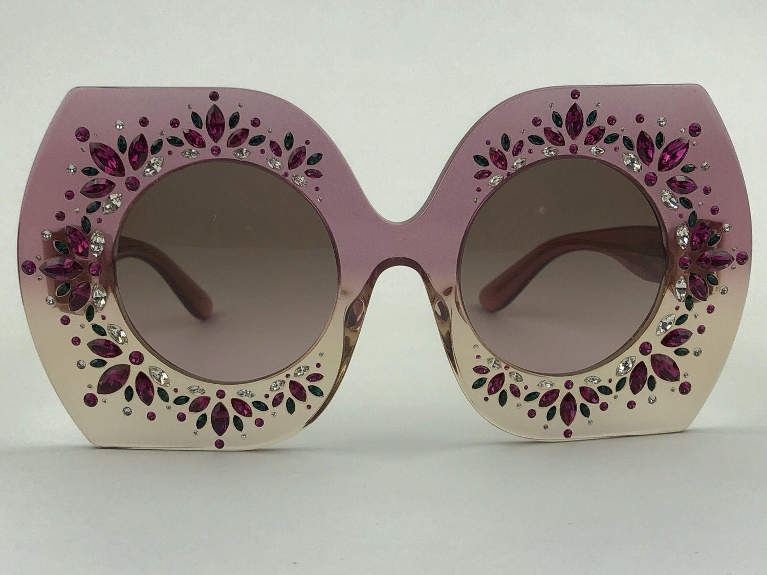 Dolce & Gabbana - DG4315-B - Rosa - 3136 - 49/25 - Óculos de sol