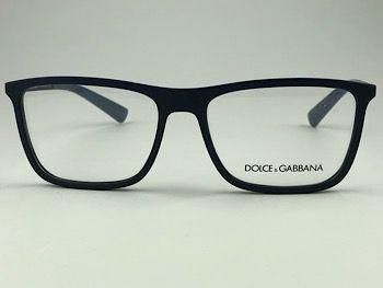 Dolce & Gabbana  DG5021 - Azul - 2806 - 54/16 - Armação para grau