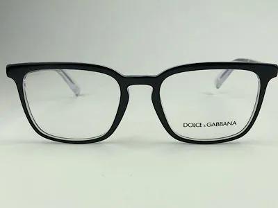 Dolce & Gabbana - DG 3304 - Preto - 501 - 54/19 - Armação para Grau