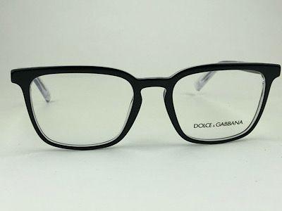 Dolce & Gabbana - DG 3307 - Preto - 675 - 53/19 - Armação para Grau