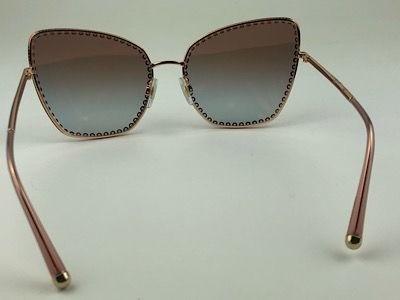 Dolce & Gabbana - DG2212 - Dourado - 1298/6F - 61/17 - Óculos de Sol