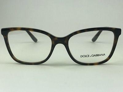 Dolce & Gabbana - DG3317 - Havana - 502 - 54/17 - Armação para Grau