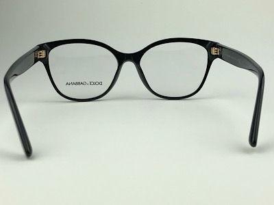 Dolce & Gabbana - DG 3322 - Preto - 501 - 54/16 - Armação para Grau