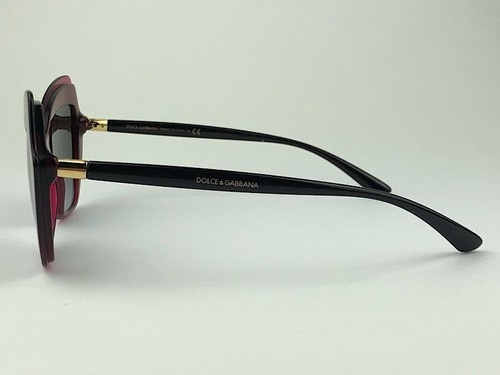 Dolce & Gabbana - DG 4361 - Vinho - 3211/8G - 52/18 - Óculos de Sol