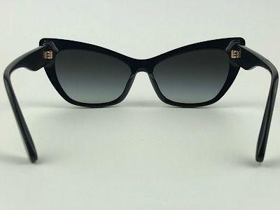 Dolce & Gabbana - DG 4370 - Preto - 501/87 - 56/15 - Óculos de Sol