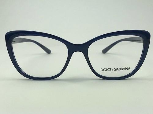 Dolce & Gabbana - DG 5039 - Azul - 3094 - 54/17 - Armação para Grau