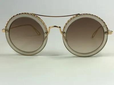 Elie Saab - ES001/S - Dourado - 01Q VU - 48/27 - Óculos de Sol