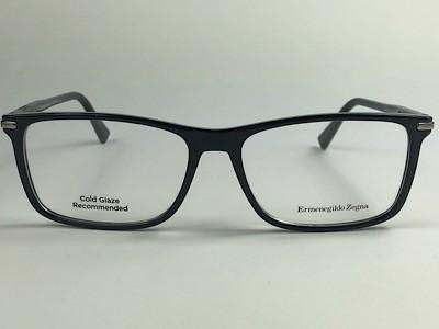 Ermenegildo Zegna - EZ 5041 - Preto - 001 - 55/15 - Armação para Grau