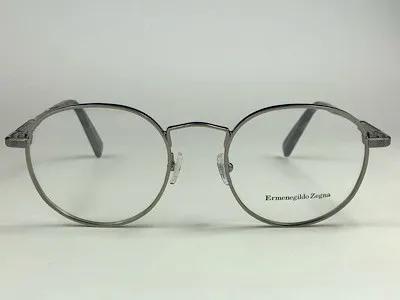 Ermenegildo Zegna - EZ 5116 - Prata - 008 - 50/20  - Armação para Grau