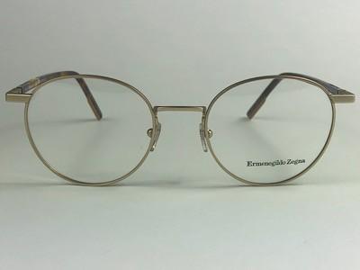Ermenegildo Zegna - EZ 5138 -Dourado - 032 - 50/20 - Armação para Grau