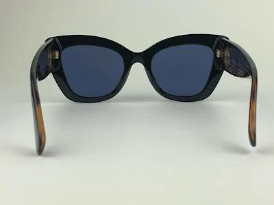 Fendi - FF 0327/S - Preto - 807 KU - 52/21 - Óculos de Sol
