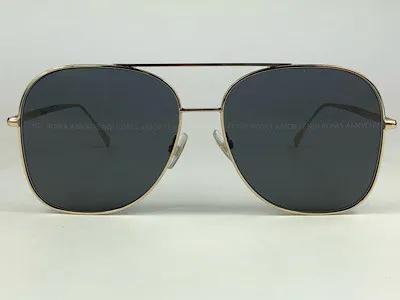 Fendi - FF 0378/G/S - Dourado - 2F7 7Y - 59/15 - Óculos de Sol