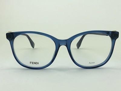 Fendi - FF 0393 - Azul - PJP - 54/18 - Armação para Grau