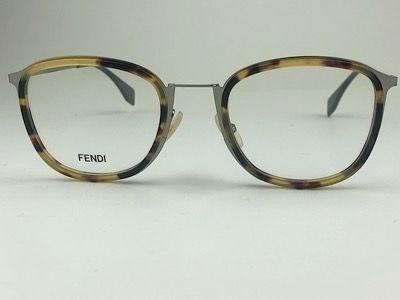 Fendi - FF M0024 - Grafite - 6LB - 51/22 - Armação para Grau