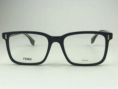 Fendi - FF M0047 - Preto - 807 - 52/18 - Armação para Grau