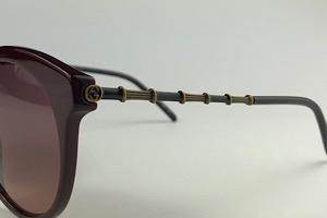 Gucci - GG0653S - Vinho - 003 - 55/18 - Óculos de Sol