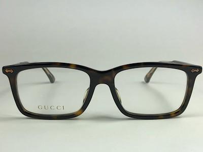 Gucci - GG 0191OA - Havana - 002 - 54/17 - Armação para Grau