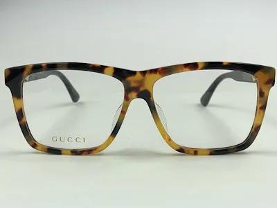 Gucci - GG 0268OA - Havana -004 - 57/14 - Armação para Grau