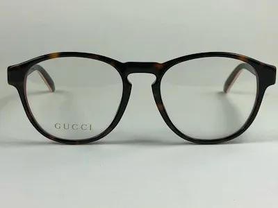 Gucci - GG 0273O - Havana - 002 - 50/18 - Armação para Grau
